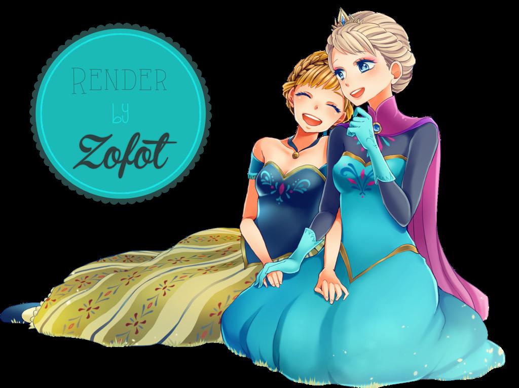 Render Elsa y Anna