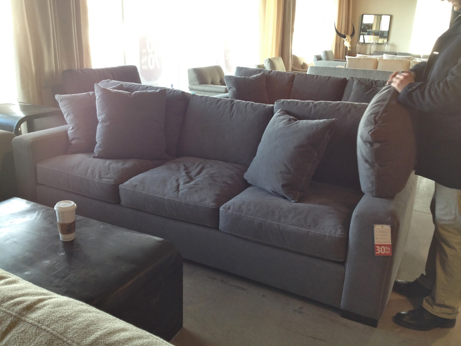 crate and barrel sectional reviews. Black Bedroom Furniture Sets. Home Design Ideas