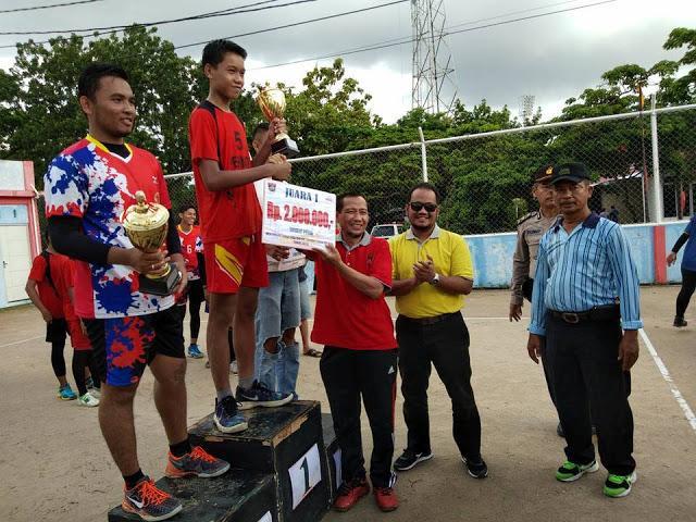 Dari Kejuaraan Volly Nagari Kota Padang, Lubeg Juara Putra Nanggalo Juara Putri