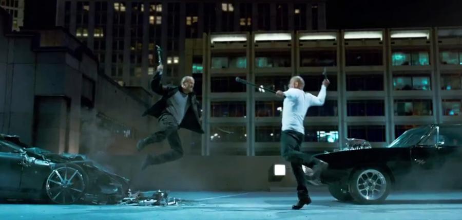 Confruntare explozivă între Vin Diesel şi Jason Statham în filmul Furious 7