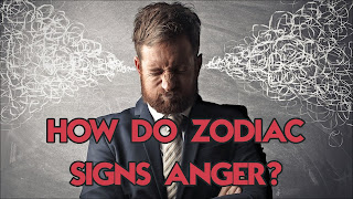 How Does Each Sign Of The Zodiac Show His Anger?