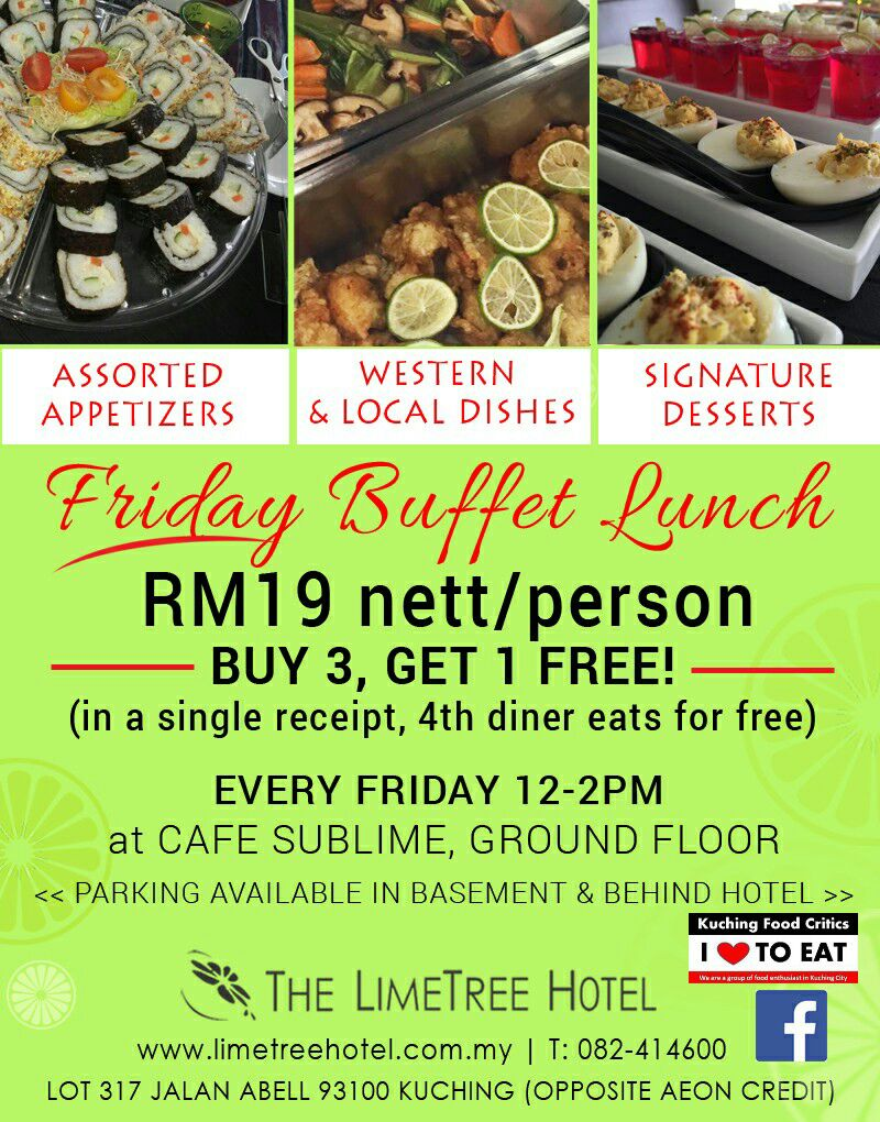Kuching Food Critics: The LimeTree Hotel