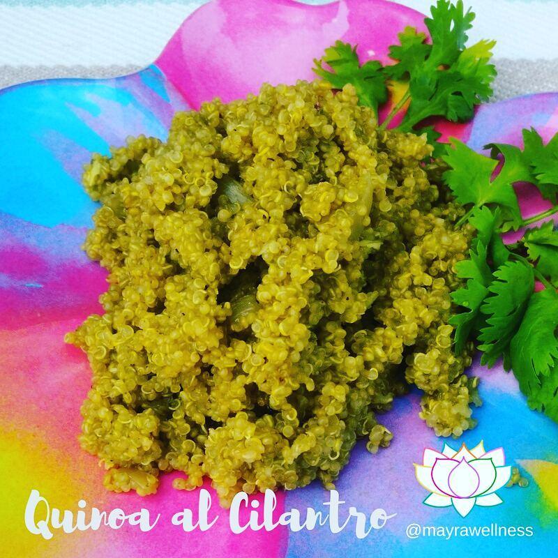 quinoa al cilantro