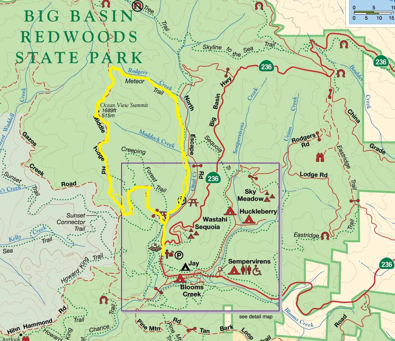 Lord of Three Realms: Big Basin Redwoods State Park