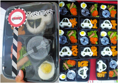 bento DIY Car Birthday Party