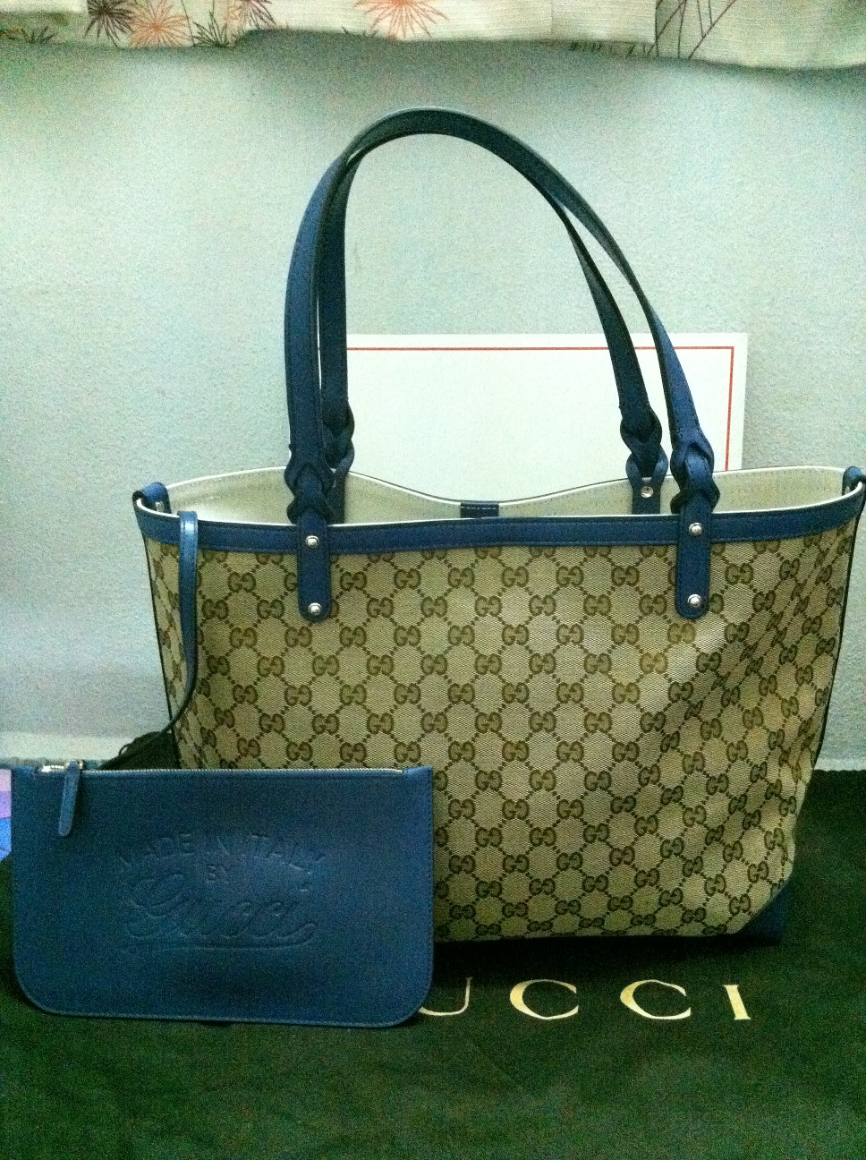 553471eb8 Authentic Luxury Items @ Bargain Price: Brand New Gucci Craft Blue ...