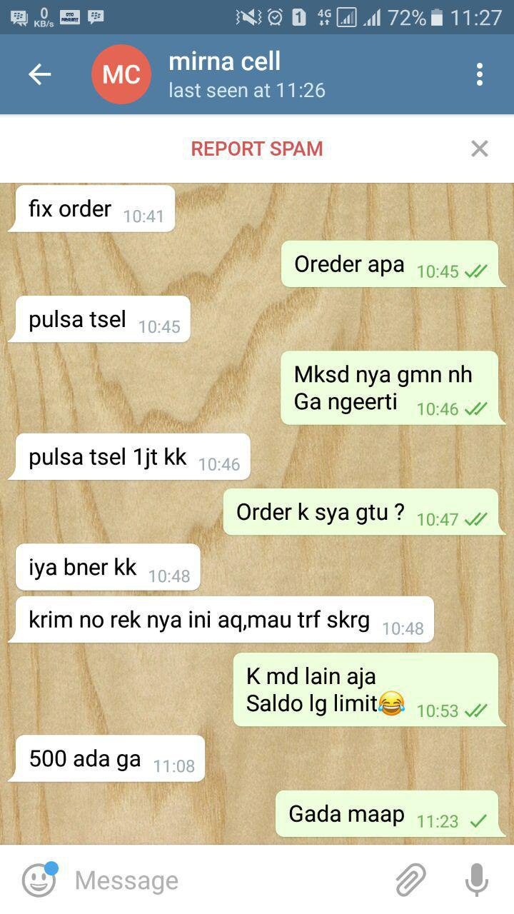 Otopayment Kp Axis Pulsa 0 Rupiah