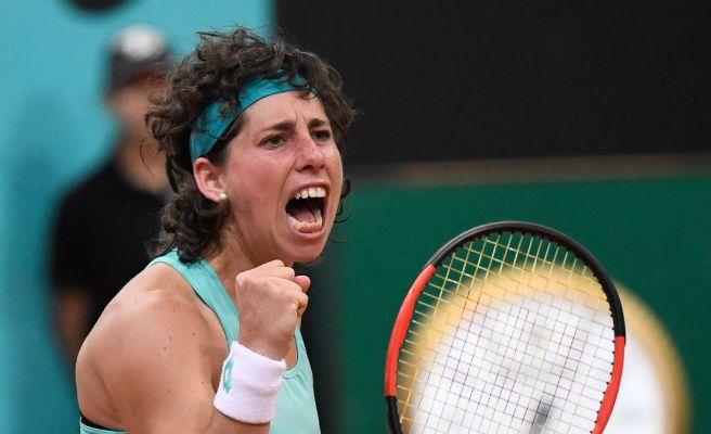 Carla Suárez, la guerrera de Gran Canaria en  Mutua Madrid Open de Tenis