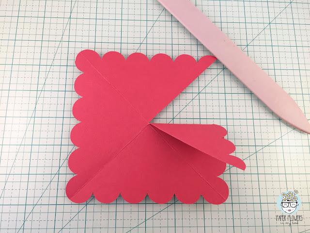 micro álbum scrapbooking san valentín