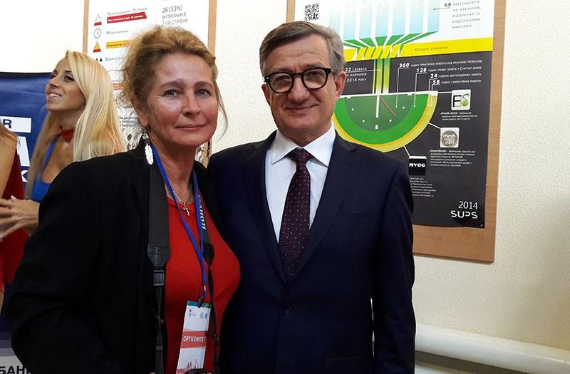 Татьяна Кресан и Сергей Тарута