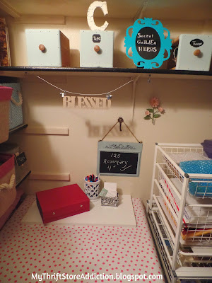 Closet office nook