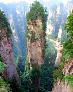 Tianzi Mountains photo
