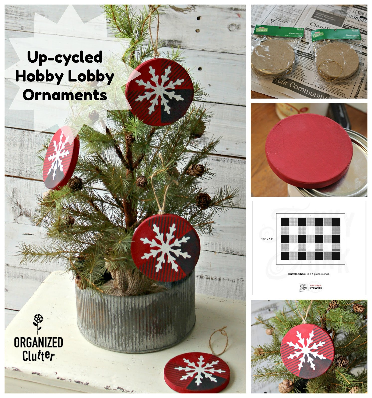Hobby Lobby Regent Square Christmas Ornament 2021 With Us Always Up Cycled Hobby Lobby Paper Christmas Ornaments Organized Clutter