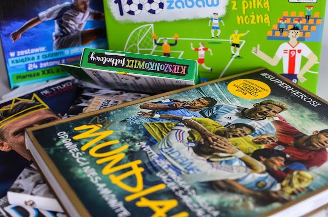 Mundial 2018 - książki i gry dla dzieci o tematyce piłkarskiej