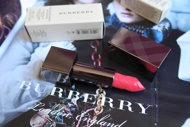 Burberry Kisses Light Crimson #49 lipstick review