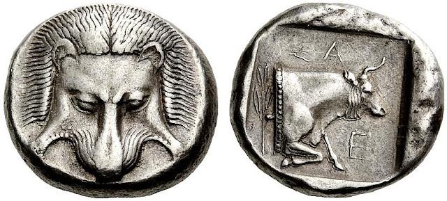 Tetradracma de Samos