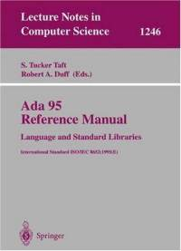 Ada 95 Reference Manual: Language and Standard Libraries