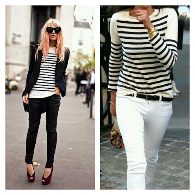 Blusa em listras Breton| Camisa  em listras | Looks Inspirações