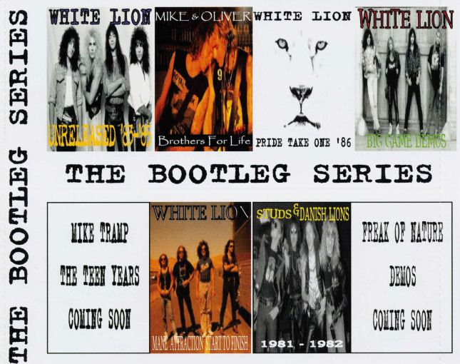 MIKE TRAMP - The Bootleg Series [Private 7-CD Box] Disc 7 Mike & Oliver Brothers For Life - inlay