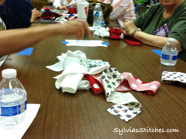Quilter's Strip Poker!
