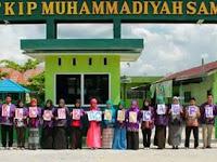 PENERIMAAN MAHASISWA BARU (STKIP MUHAMMADIYAH SAMPIT) 2017-2018 SEKOLAH TINGGI KEGURUAN ILMU PENDIDIKAN MUHAMMADIYAH SAMPIT