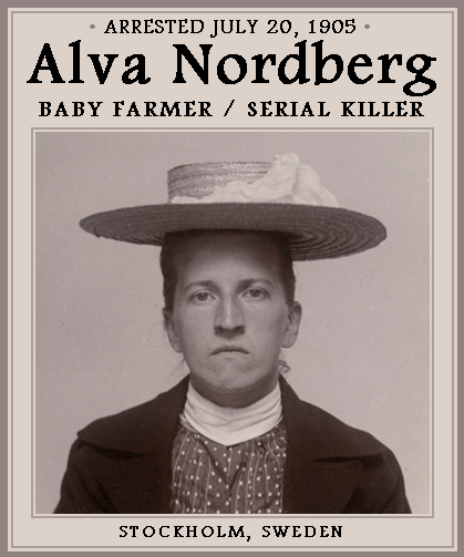 The Unknown History of MISANDRY  Alva Nordberg  Swedish Baby Farmer ... 8fb6c2e481f