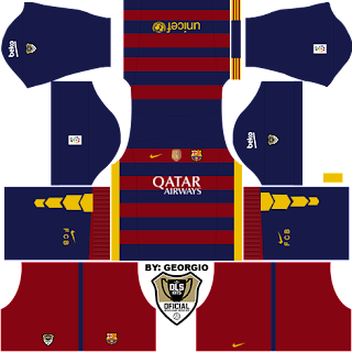 baju timnas kit jersey dream league soccer barcelona