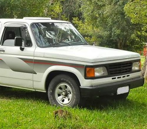 Propaganda de 1995 da pick-up D-20, da Chevrolet.