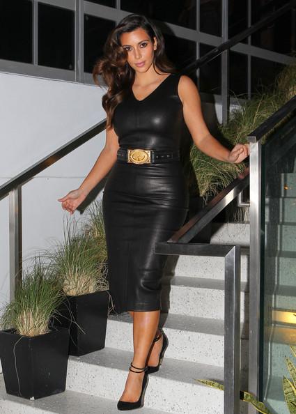 Alison Haislip Kim Kardashian S Love Affair With Leather