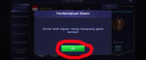 Keuntungan dan Kerugian masuk advance server