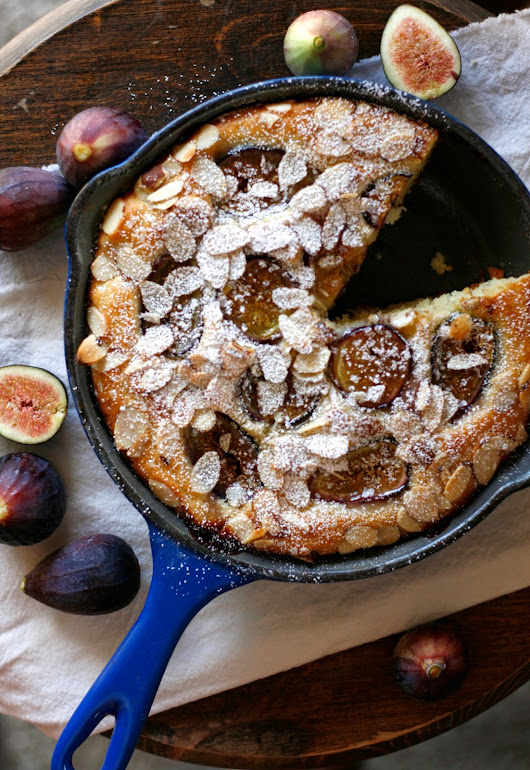 Fresh Fig Breakfast Cake and a Road Trip