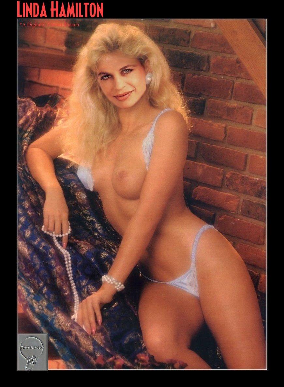 Linda Hamilton Nude Fake Pics Sexy Erotica