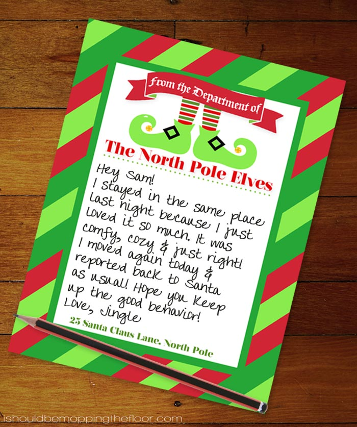 North Pole Letterhead