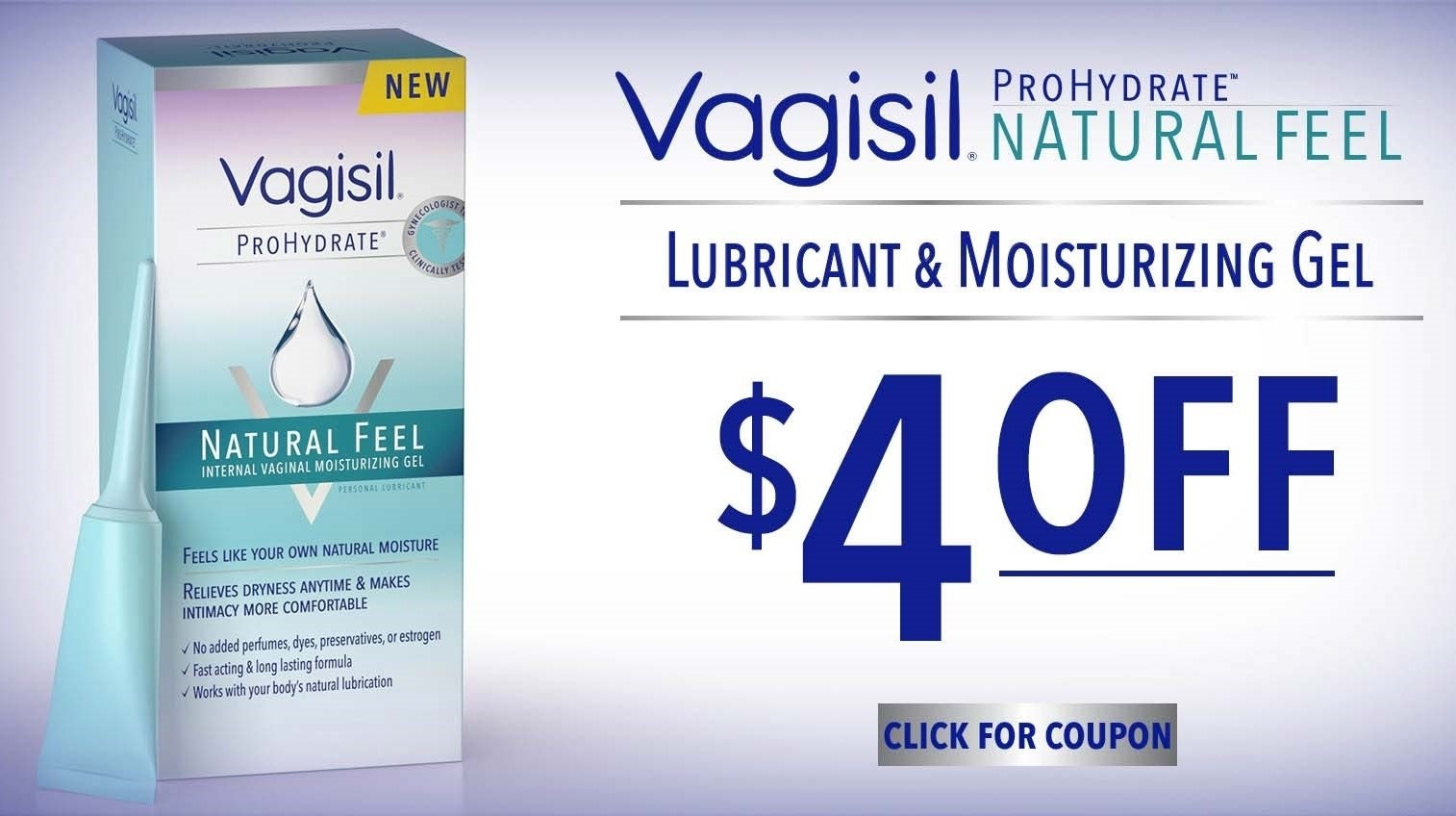 Free Sample Of Vagisil Prohydrate Natural Feel