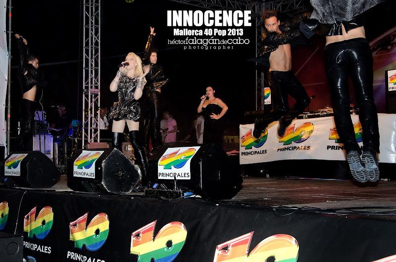Innocence en el Mallorca 40 Pop 2013. Héctor Falagán De Cabo | hfilms & photography.