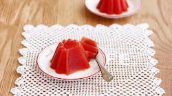 Làm món thạch cà chua ngon và đẹp mắt