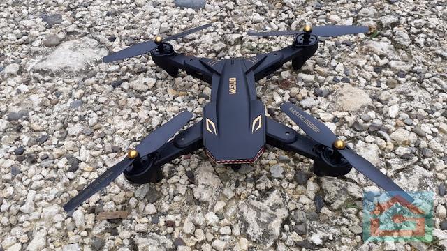 Kelebihan dan Kekurangan Drone Visuo XS809S Battle Sharks