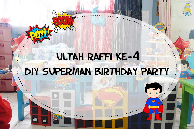 DIY Superman Birthday Party