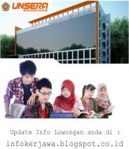Lowongan Kerja Universitas Serang Raya (UNSERA)