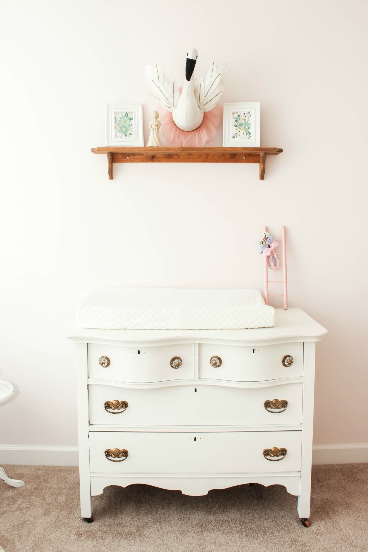 old dresser changing table