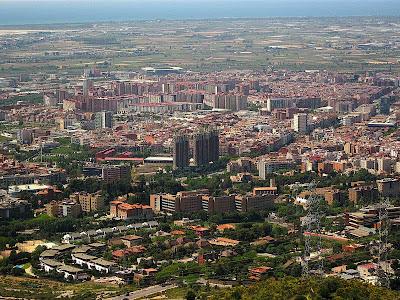 Esplugues de Llobregat from Sant Pere Martir