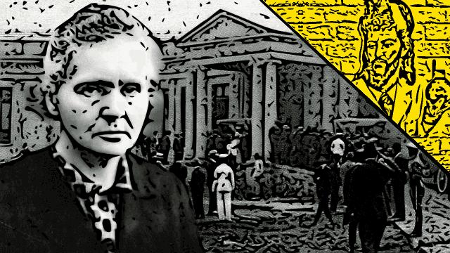 Marie Curie em Belo Horizonte - Um dia memorável.