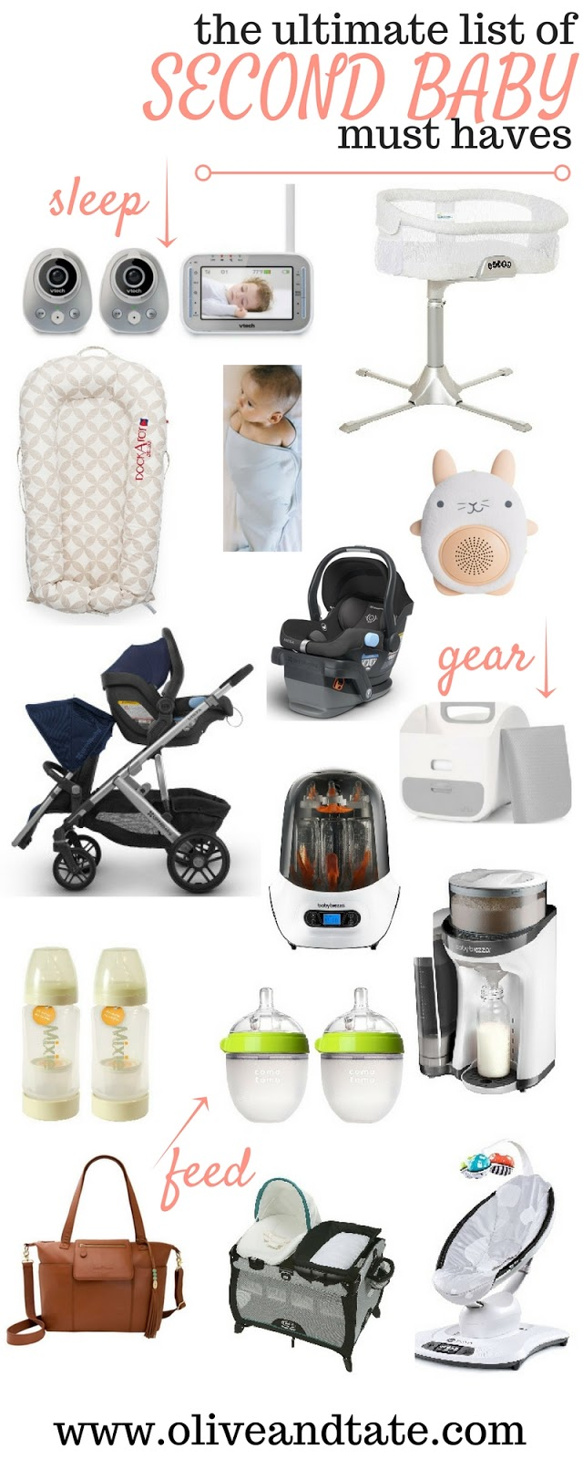 The Ultimate List Of Second Baby Must Haves Olive And Tate