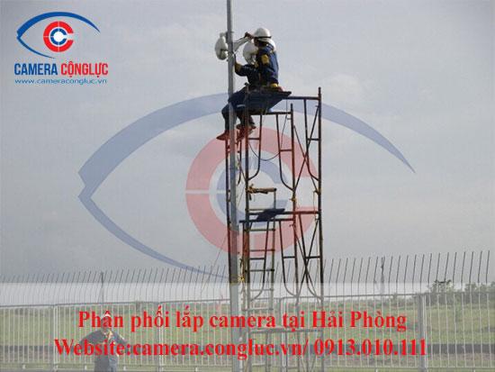 Lắp đặt camera Dahua, Hikvision tại Hải Phòng