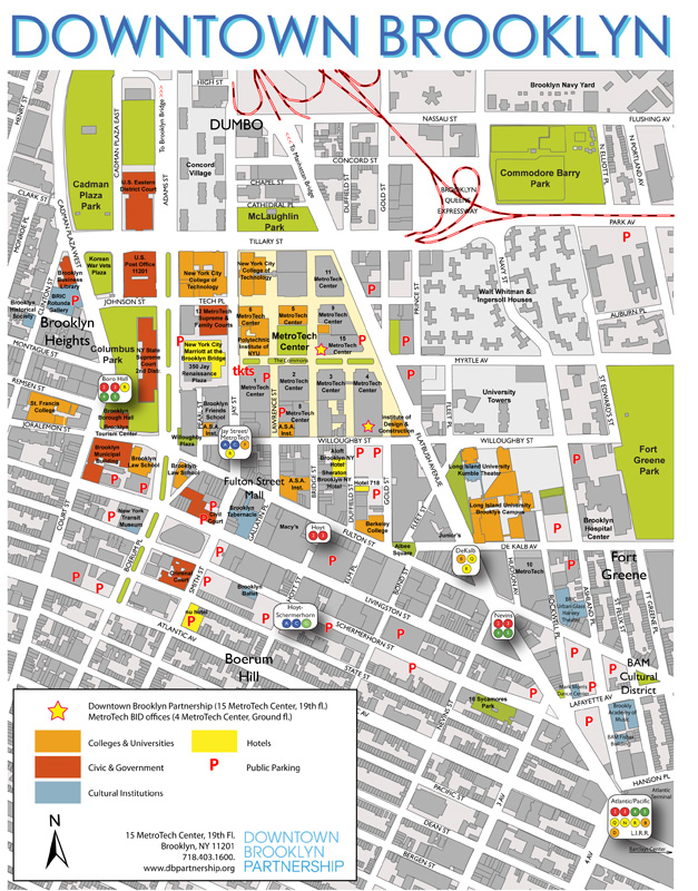 The Downtown Brooklyn Partnership S Map Expands To Vanderbilt Avenue