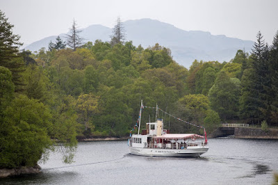 Sir Walter Scott Cruise Loch Katrine_by_Laurence Norah-5