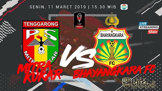 Prediksi Mitra Kukar Vs Bhayangkara FC, Senin 11 Maret 2019 Pukul 15.30 WIB @ Indosiar