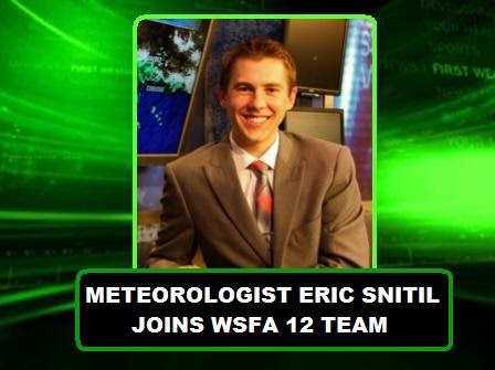 Alabama NewsCenter: Meteorologist Eric Snitil Joins WSFA 12