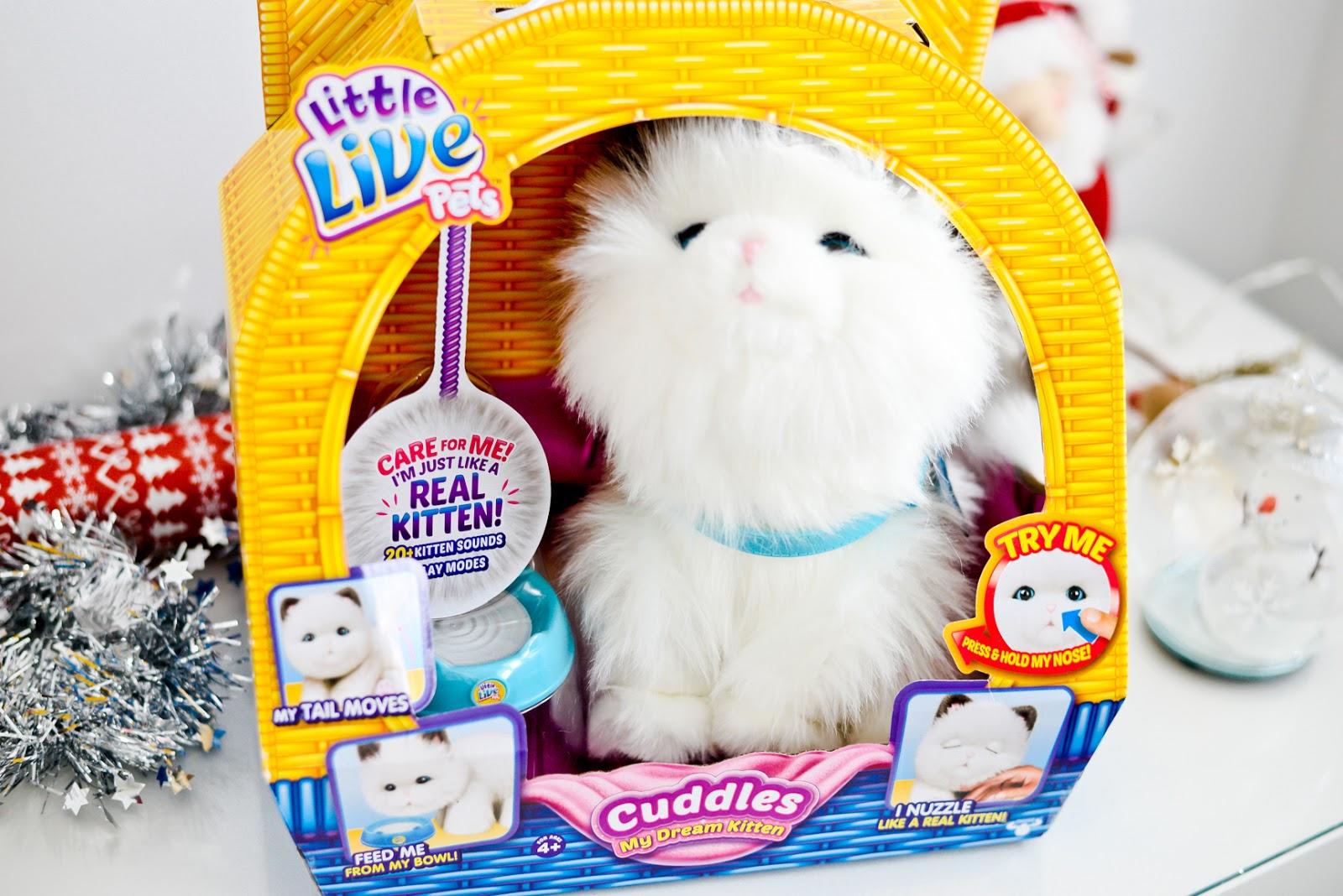 little live pets cat