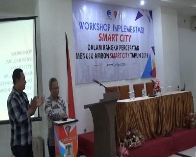 Pemkot Gelar Workshop Implementasi Menuju Ambon Smart City 2019